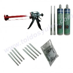 1 Kit de anclaje para toldo cofre (kit-01)