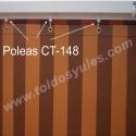 Polea para cortina (CT-148)