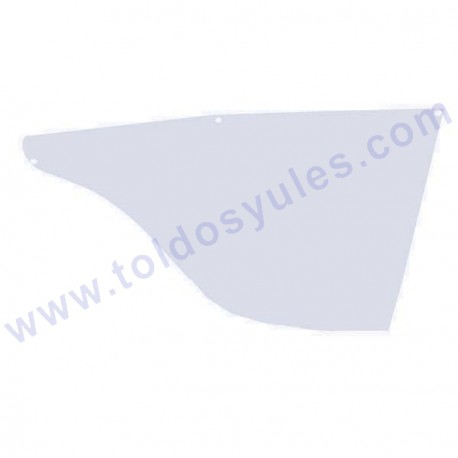 1 Tapa lateral para tejado de toldo (TJ-145)