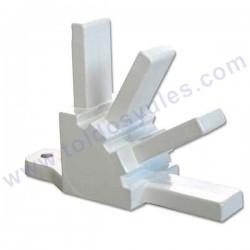Para pefil 55. Pieza fija para capota de 4 arcos (CF55-102A)