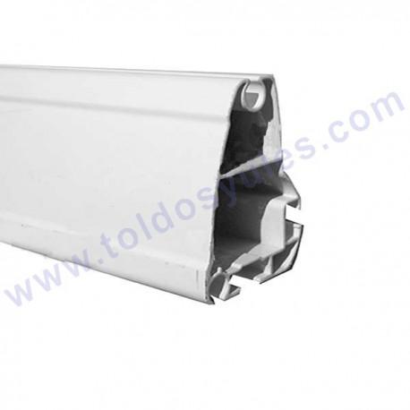 Perfil de aluminio lacado en blanco for Perfiles de aluminio para toldos de palilleria