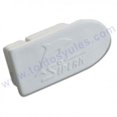 Tapa o tapon de plastico para perfil toldo plano (TP-137)