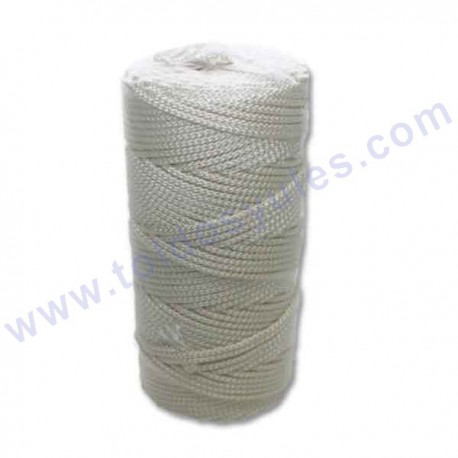 200 mts. Cuerda trenzada de nylon de 4mm (ACS-188)